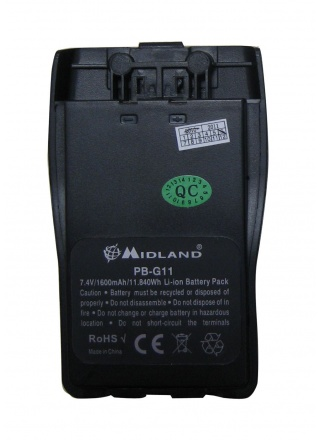 BATTERIE RECHARGEABLE POUR RADIO PMR446 G11V