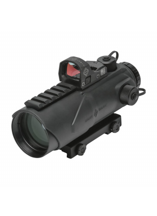 VISEUR POINT ROUGE WOLFHOUND 6X44 HS-223 AVEC MINI SHOT M-SPEC LQDK