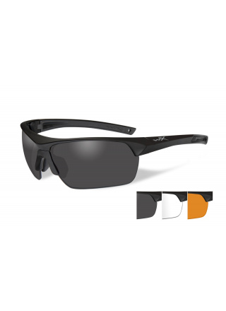 LUNETTES DE PROTECTION BALISTIQUES GUARD ADVANCED VERRES FUME/INCOLORE/ORANGE