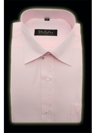 CHEMISE ROSE MANCHES LONGUES