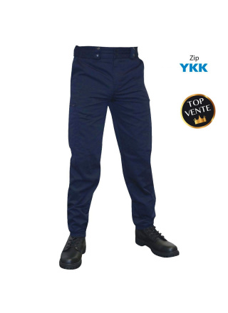 PANTALON D'INTERVENTION PLATINIUM - MARINE MAT
