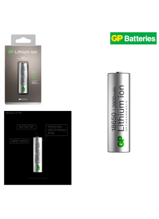 PILE RECHARGEABLE LITHIUM ION 18650